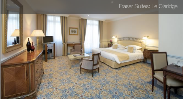 Fraser Suites Le Claridge Champs Elysées