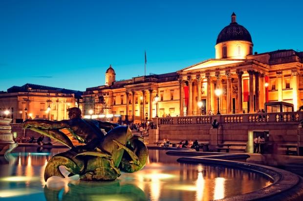 """Trafalgar Square, London."""