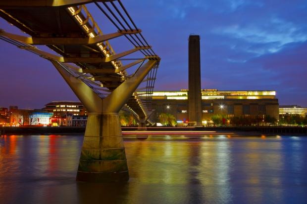 Tate Modern and Millenium bridge