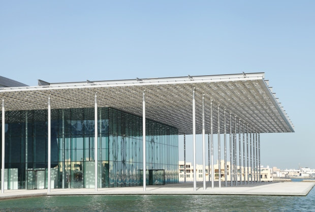 The Bahrain National Theatre is one of the largest theatres in the Arab World.