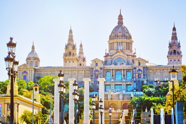 The National Museum of Catalonia Art is an Italian style building constructed for the International Exposition of 1929