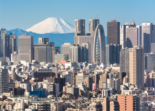 Tokyo cityscape with Mount Fuji.jpg